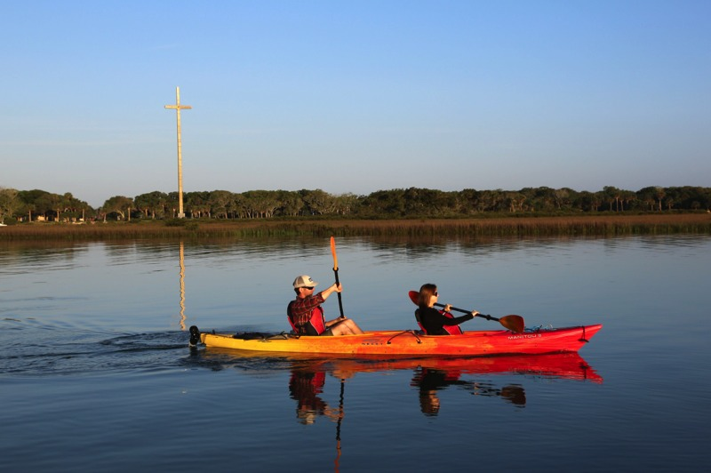 Kayaking in St Augustine with St Augustine Eco Tours