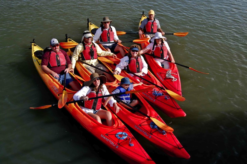 Kyaking is a great way to see more and learn about St. Augustine.