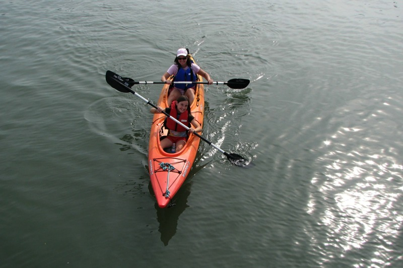 Fun Salt Marsh Kayak Tour with St. Augustine Eco Tours.