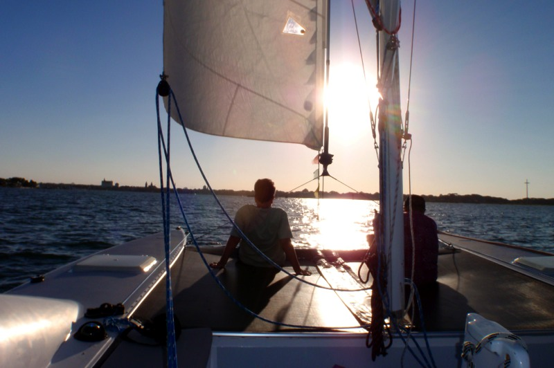 Join us for a beautiful Sunset Sail in St Augustine. Eco Tours